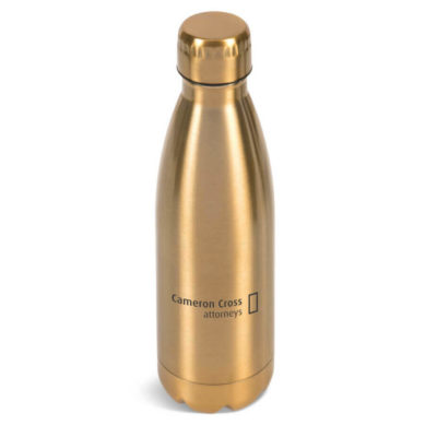 Discovery Water Bottle Is Made Using Stainless Steel And PP. The Features Includes A Stainless Steel Outer And Liner.