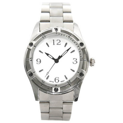 The Gents Silver Rocky Watch Is Made Out Of Metal And It Is Silver. The Watch Comes With A 2 Year Guarantee. It Is Packaged In A Watch Tin.