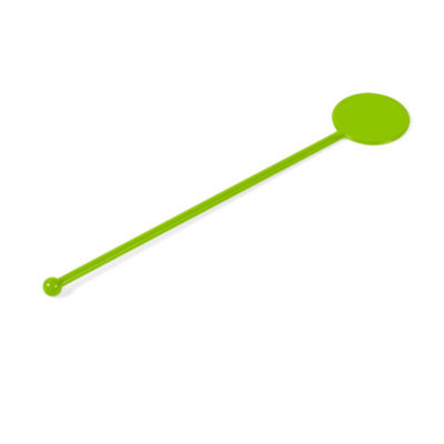The Lime Mixology Stirrer Is Made From PS. The Stirrer Is Great For Parties.