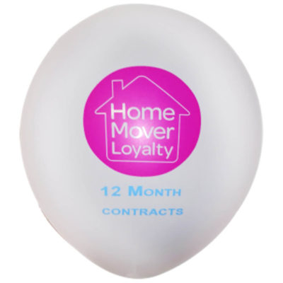 Helium Quality Latex Balloon With A 1 Colour 2 Sided Print Or A 2 Colour 1 Sided Print Are Made From Real High Quality Latex.