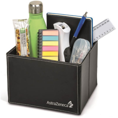 The Carrington Hold All Is Made Out Of PU Material. This Will Make Your Desk Look Neat And Tidy While Exposing Your Brand.
