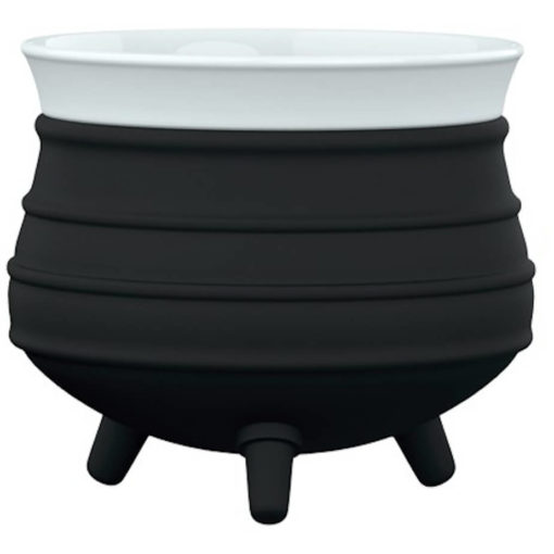 The Poykie Ceramic Pot With a silicone cover, in black is very versatile and can be used for anything. Made from ceramic and silicone, packed inside a giftbox.