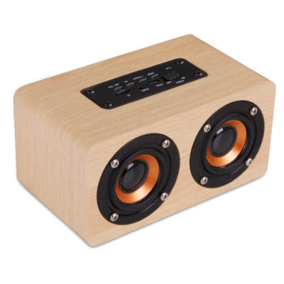 This Is A Natural Wood Amazon Deco Speaker