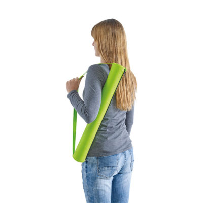 Foldable Beach Mat With Carry Strap. Easily Carry It Over Your Shoulder.