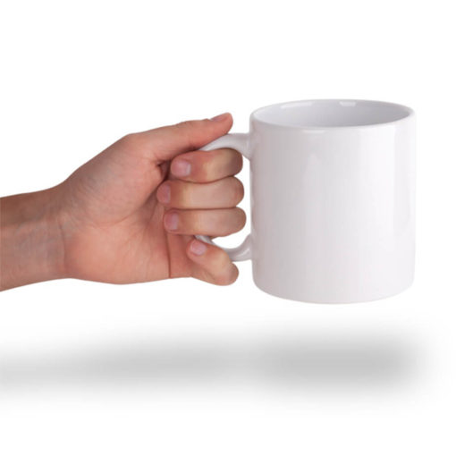 The White Big Friendly Giant Mug Is Made From Ceramic. The Mug Has A 600ml Capacity.