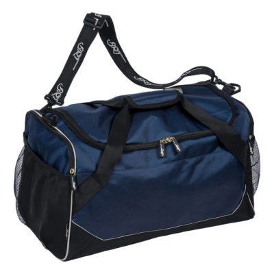 Navy/Black BRT Chrome Tog Bag Is Made From 600D Polyester.