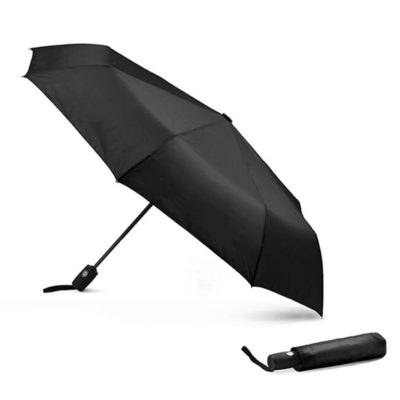 Black Compact Pop-Up Umbrella Is Made From 210 Denier And Has An 8 Panel Automatic Pop-Up Function.