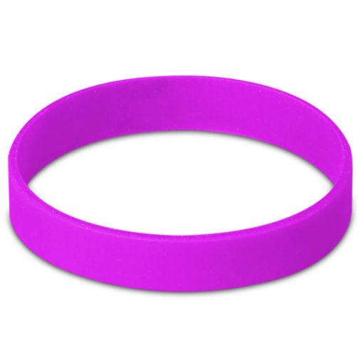 Purple-Coloured Wristband