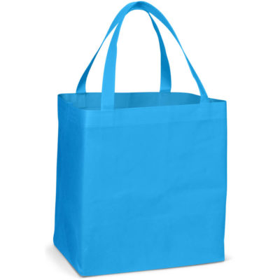 The Valuemark Shopper is a COLOUR 80gsm non-woven fabric shopper bag with a large storage compartment and shoulder handles