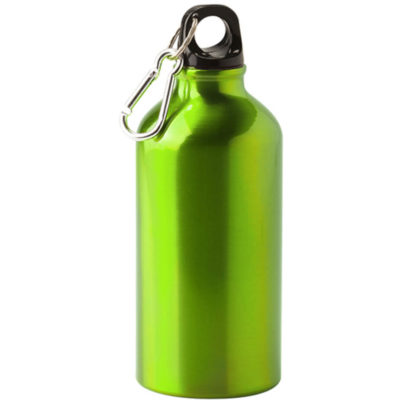 Stay hydrated with the lime green 500ml Aluminium Water Bottle. It's clip, screw-on cap and durable design mean you'll have a dependable way to store your water.