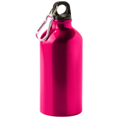 Stay hydrated with the pink 500ml Aluminium Water Bottle. It's clip, screw-on cap and durable design mean you'll have a dependable way to store your water.
