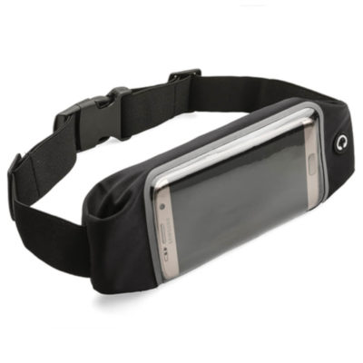 The Waikiki All Time Waist Bag will ensure that your valuables are kept near and safe. It includes a front pouch for your phone and a audio cable hole.