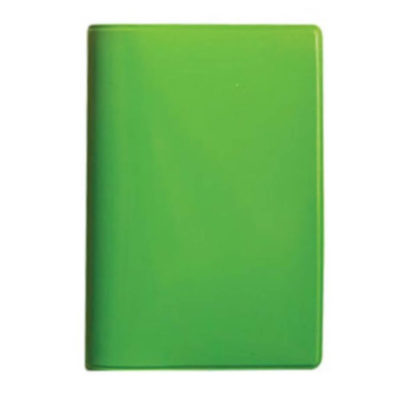 Keep your credit cards in one convenient location with the Lime Green Budget Credit Card Holder. Available in a range of bold colours that come with black inners.