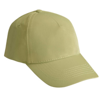 The Khaki 5 Panel Cotton Cap is made from 100% Cotton and available in a wide variety of colours. It's one size fits all means that everyone can wear it.