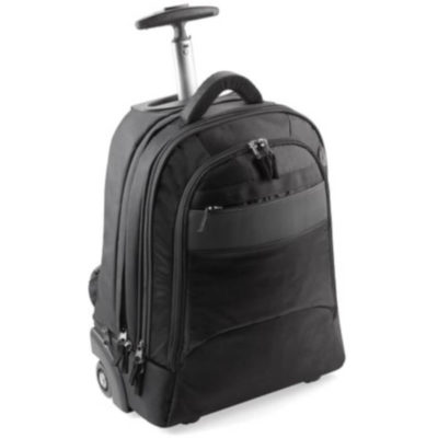 Kumon Laptop Trolley Backpack in Black