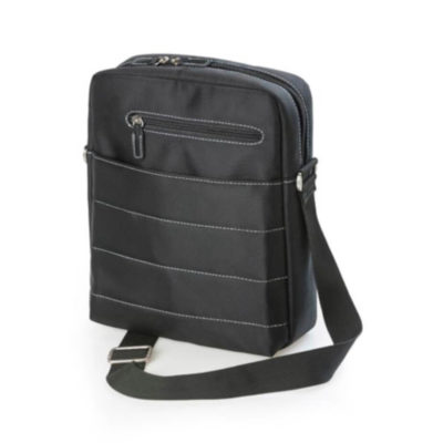The Colonel Satchel makes for a perfect travel companion, with it's main zippered compartment and front zip pocket, you will have everything by your side..