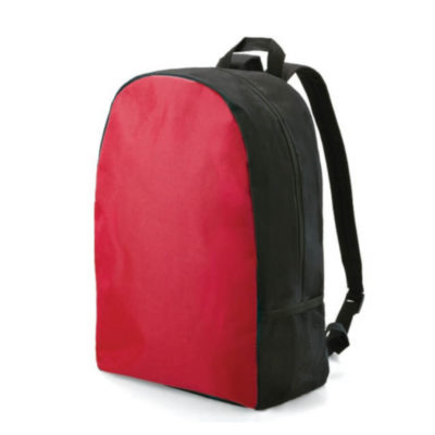 The Red Arch Back Pack is a simple but effective gift to giveaway. It's stylish combination of black with colourful back ensures that your brand is emphasized.