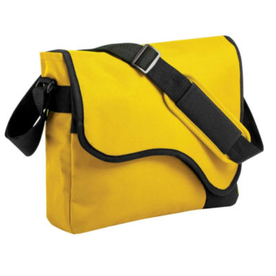 The Curvy Conference Satchel in Yellow is a stylish yet functional item that is sure to turn heads and has plenty of space to pack your essentials in.