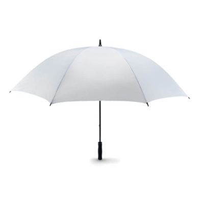 Don't let the wind take another umbrella, use the White Wind Proof Umbrella and you'll be able to effortlessly travel in the heaviest wind!