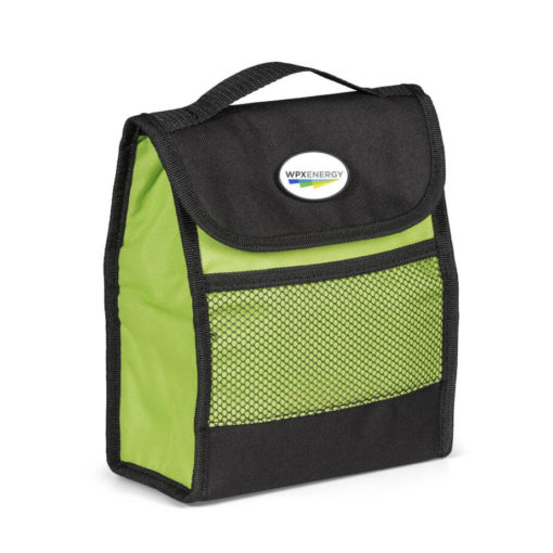 Lime Green Foldz Lunch Cooler That Can Fold Flat For Easy Handling