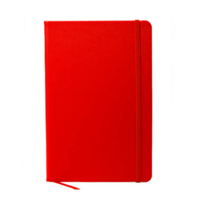 A5 Oxford Notebook in Red