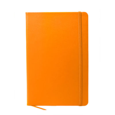 A5 Oxford Notebook in Orange