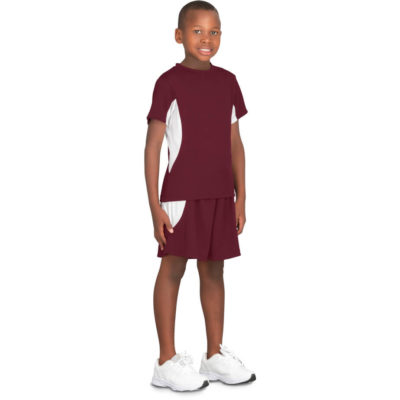 The Kids Championship T Shirt - Display maroon