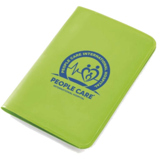 The Mini Survivor First Aid Kit is a lime green PVC sleeve-like holder with first aid essentials