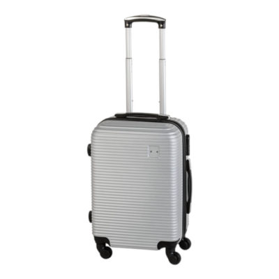 The Hard Shell Luggage Trolley is a sturdy bag that you can take with you on all of your travels, it is available in a charcoal black and a stunning silver.