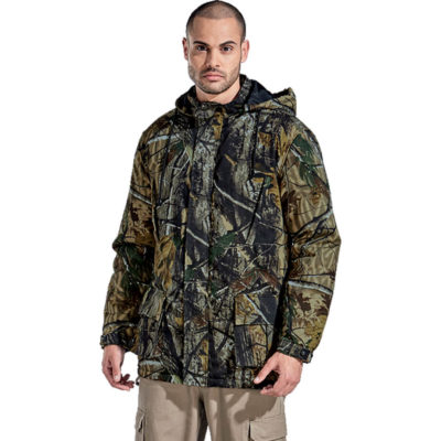 The Indestruktible Bullet Jacket is made from 160g 100% cotton twill with a front nylon zip and storm flap.