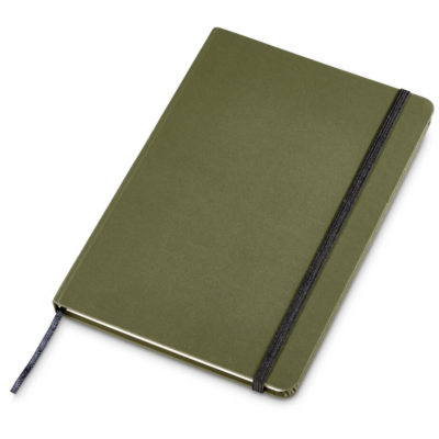 The Savannah Eco-Logical Notebook A5 is natural with 160 lined pages, elastic band andsatin ribbon placeholder