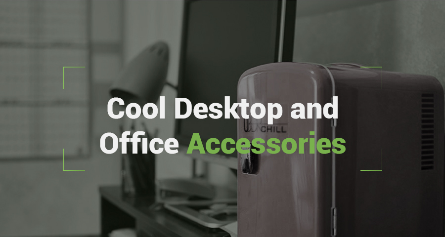 Desktop and office accessories add a different dynamic to the office space, they make the office more welcoming and cheerful