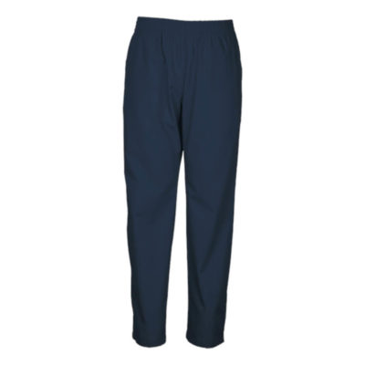Navy Mens Core Scrub Pants With Elasticated Waistband And Front Slant Pockets