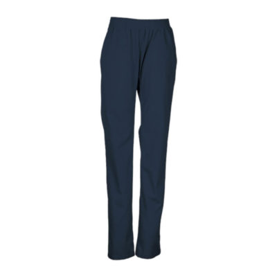 Navy Ladies Core Scrub Pants With Elasticated Waistband And Front Slant Pockets
