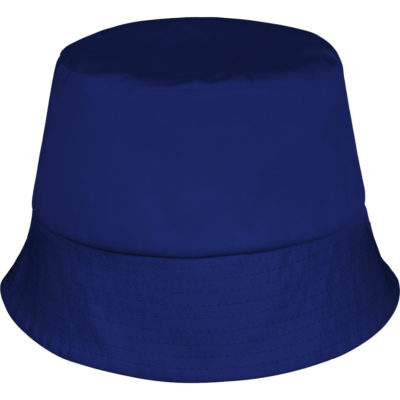 The Spoti Pantsula Hat is a blue bucket hat with an unstructured design and a self colour under the brim