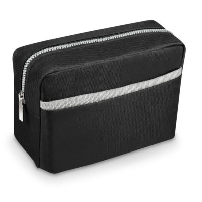The Langham Toiletry Bag in Black.