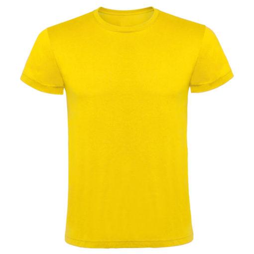 Yellow 145gsm Cotton Unisex T Shirt