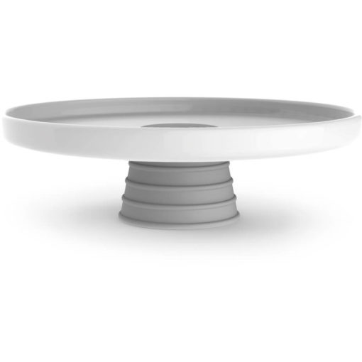 The Andy Cartwright Topsy-Turvy Serving Platter with grey addition
