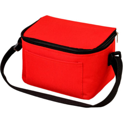 The 600D 6 Can Cooler in Red