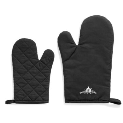 The Slater Mitt in black made from cotton and polyester