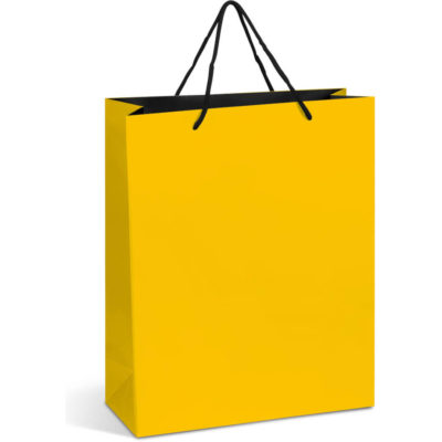 Omega Maxi Gift Bag Yellow