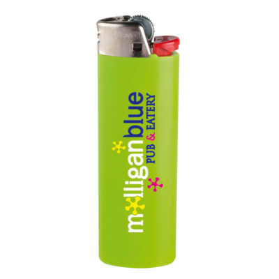 Lime Green BIC J6 Maxi Lighter