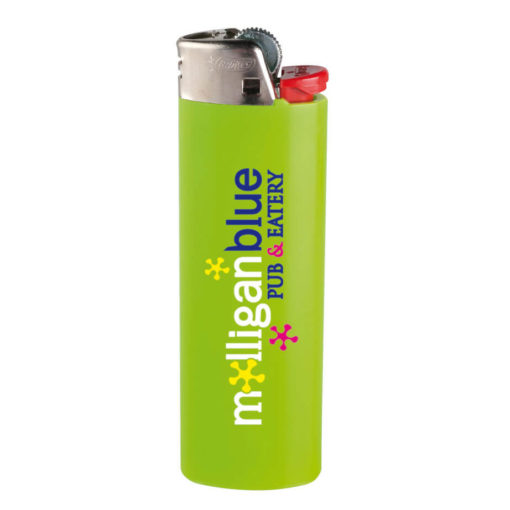 Lime Green BIC J6 Maxi Lighter