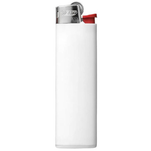 White BIC J3 Slim Line Lighter