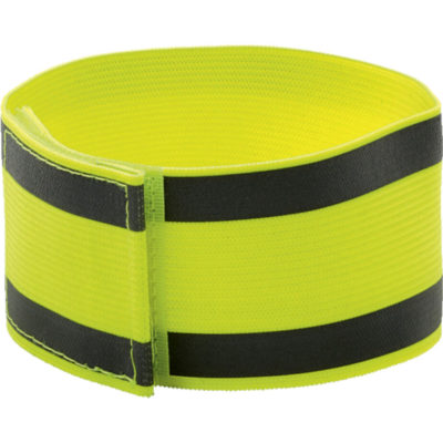 The The Reflective Safety Arm Band with two wide relfective stripes