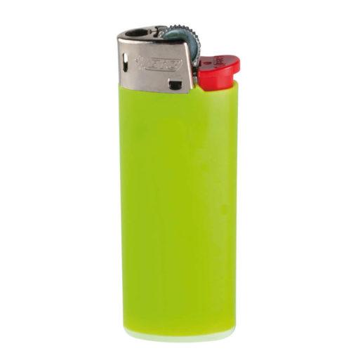 Lime Green Plastic BIC J5 Mini Lighter