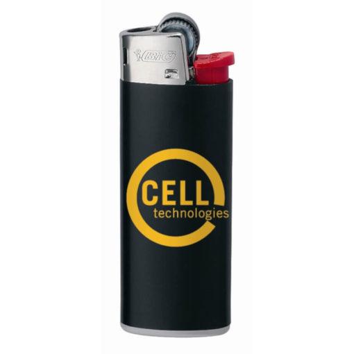 Black Plastic BIC J5 Mini Lighter