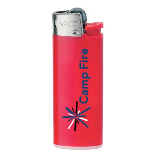 Red Plastic BIC J5 Mini Lighter