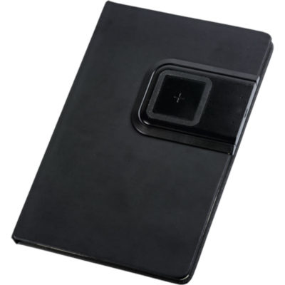 A5 PU Notebook With Removable Wireless Charger