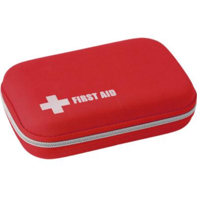 The 51 Piece First Aid Kit In EVA Case EVA red case